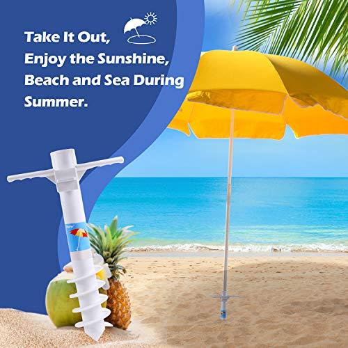 Ohuhu Beach Umbrella Sand Anchor Stand Holder