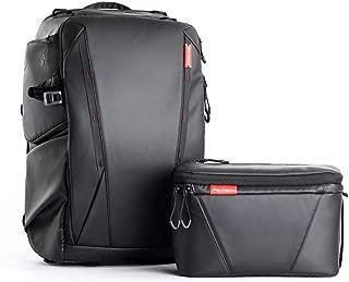 PGY Tech OneMo Backpack 25L + Shoulder Bag (Twilight Black)