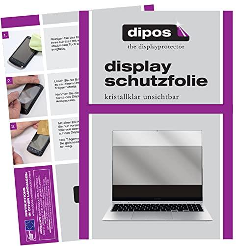 dipos I 2X Pellicola Protettiva Compatibile con Samsung Galaxy Book PRO 360 13.3 Pollice Pellicola di Protezione Cristallo