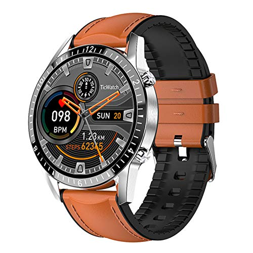 BFL 2021 Smart Watch Men's Bluetooth Call Music Player Heart Rate Ip67 Waterproof Fitness Smartwatch for Android IOS Watch,A
