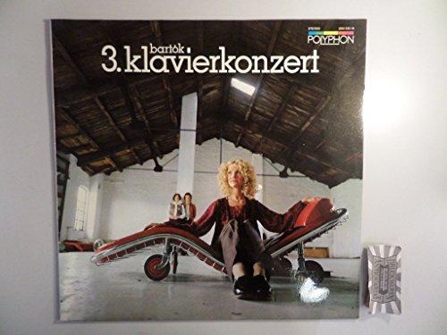 Bartok : 3. Klavierkonzert / Divertimento für Streichorchester [Vinyl, LP, 2542 030-18].