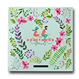 Honeymoon Travel Journal, Record-Book Trip Together, Save All Experiences On This Memory Album, A Just Married Present or Gift Like No Other. Anniversary Gifts for Him and Her