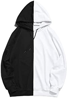 Mogogo Mens Long Sleeve Colorblock Casual Fashion Sweatshirt Blouse