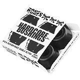 Bones Hardcore 4pc Hard Black Black Bushings Skateboard Bushings