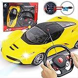 PETRLOY Pas cher voiture jouet RC Speed Racing Boy Racing jouet rouge 1:18 échelle Ferrari 2.4GHZ télécommande électronique chargeable dérive Racing Hobby jouets véhicules avec LED phare rouge