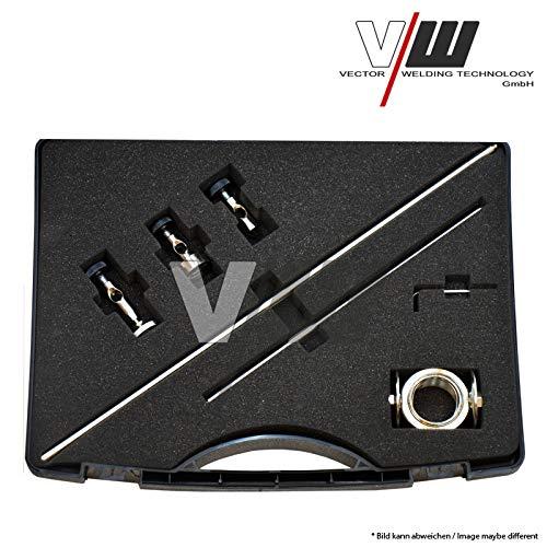 Kreisschneider für Plasmaschneider Plasmabrenner Plasmacutter Cutter P80 + Magnet und Führungsschiene für Plasmaschneider mit Pilotzündung von Vector Welding - 4