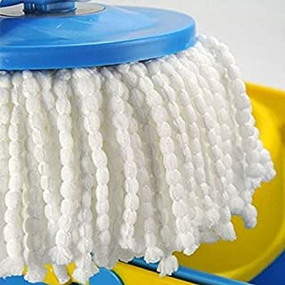 Replacement Mop Micro Head Refill for 360°Spin Magic Microfiber Mop Head Round Shape Standard Size Multicolor Removable Ac...