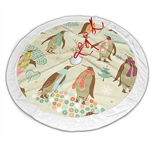 CDMT-XU1 ~ Pinguine Weihnachtsmuster Röcke Röcke für Christbaumschmuck ist 36