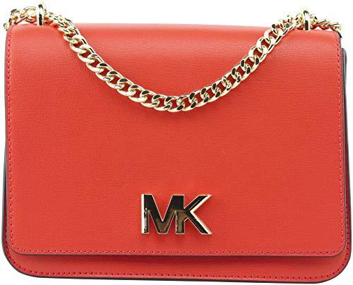 MICHAEL Michael Kors Women's Mott Large Two-Tone Leather Shoulder Bag in...