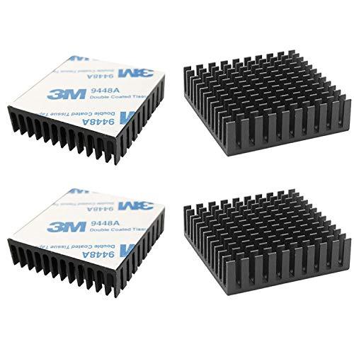 CTRICALVER L40mm X W40mm X H11mm 4pcs Disipador de...