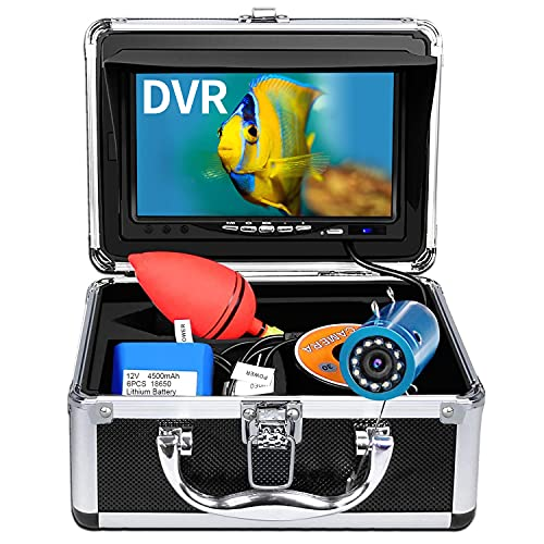 Underwater Fishing Camera, Anysun Ice Fishing Camera Portable Video...
