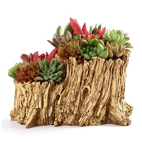 Artificial Driftwood Planter