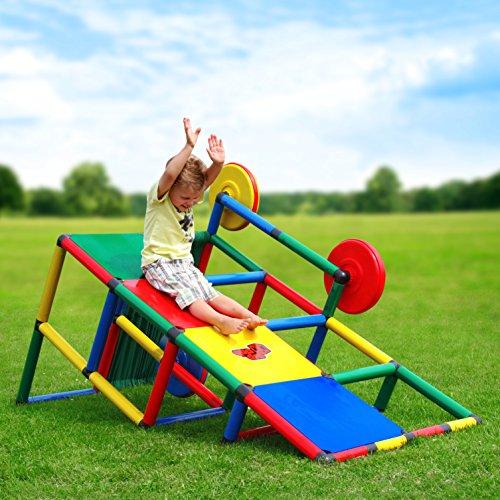 Quadro | Basic | Klettergerüst für drinnen und draußen | Fördert Entwicklung von Kindern | Beliebig modular & erweiterbar | 6 Jahre Garantie | Ab 6 Monate bis 4 Jahre
