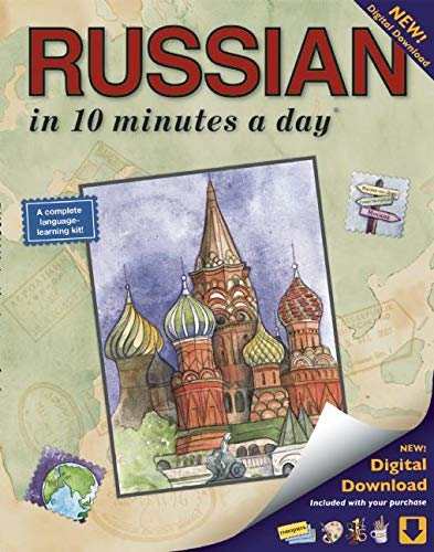 RUSSIAN in 10 minutes a day®: Language Course for Beginning and Advanced Study. Includes Workbook, Flash Cards, Sticky Labels, Menu Guide, Software, ... Grammar. Bilingual Books, Inc. (Publisher)