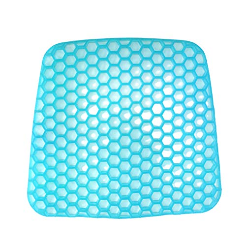 Lidylinashop Pressure Cushion Pain Relief Seat Cushion Gel Cushion Cooling Gel Pillow Chair Cushions Gel Cooling Mat Desk Chair Cushion Gel Cushion For Sitting B