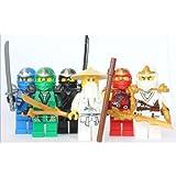 LEGO Ninjago - Sensei Wu + 5 ZX Ninjas - Lloyd, Kai, Cole, Jay & Zane by LEGO