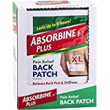 Absorbine Jr. Pain Relief Back Patch with Menthol | for Sore Muscles, Back Pain and Stiffness | Lasts Up to 8 Hours | Extra Large | 18 Count