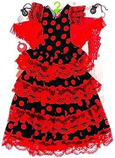 Folk Artesanía Vestido, Pendientes, Percha, peinetas y