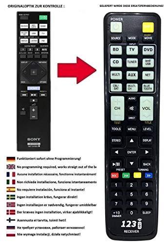 Ersatz Fernbedienung passend für Sony STR-DN1050 und STR-DN1060