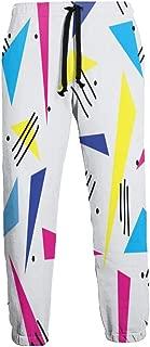 Cyloten Sweatpants Funny 80s 90s Retro Neon Image Men's Trousers Lightweight Jogging Pants Casual Sportswear