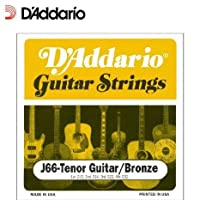 【 並行輸入品 】 D'Addario (ダダリオ) J66 Custom Tenor ギター弦