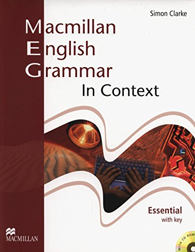 Macmillan Eng. Grammar In Context With CD-Rom-Essent. (W/Key)