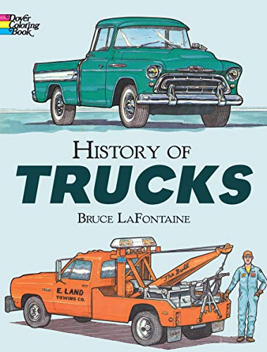 History of Trucks (Dover History Coloring Book)
