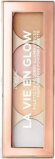 L'Oreal Paris La Vie En Glow Highlighting Powder Palette for Warm Glowing