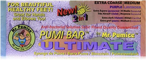 New! Ultimate Pumi Bar Purple/ Lavender Mr Pumice Hard Skin Callus Remover Bar by Healthcenter