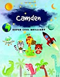 Camden: Journal, Sketchbook and Notebook Gifts for Boys & Kids - Composition Size (8.5'x11') With Large Lined Pages, Perfect for Journal, Writing, ... Pirate & Watercolor Design) (Camden Book)