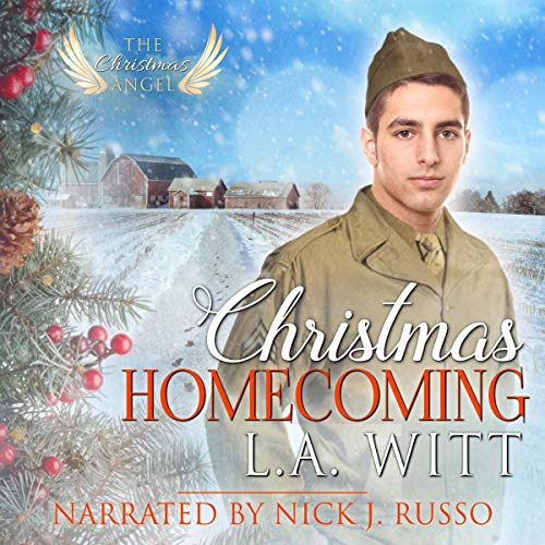 Christmas Homecoming audiobook cover art