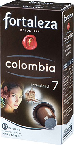 Café FORTALEZA - 10 Cápsulas de café de Colombia Compatib