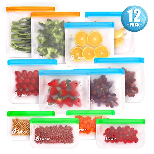 Reusable Food Storage Bags $9.19 (60% OFF)