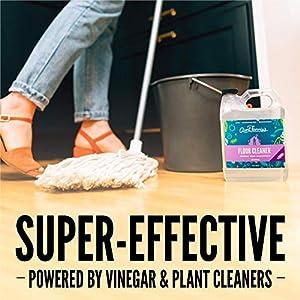 Aunt Fannie's Floor Cleaner Vinegar Wash (32 ounce jug); Natural Multisurface Floor Cleaner (Lavender)