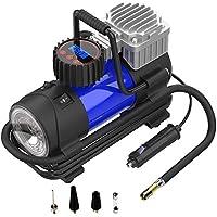 LYSNSH 12V DC Portable Air Compressor, 150 PSI Digital Tire Inflator Tire Pump with Pressure Gauge