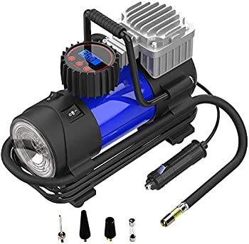 LYSNSH 12V DC Portable 150 PSI Digital Tire Inflator