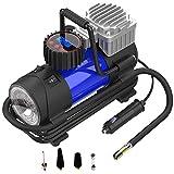 Best Air Compressor For Car Tires - LYSNSH 12V DC Portable Air Compressor - 150 Review