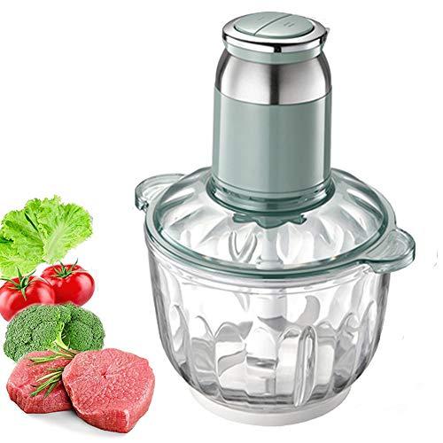 Picadora de alimentos eléctrica, picadora de carne de ajo de 250 ml, mini batidora de frutas, picadora de alimentos portátil para verduras, carne, cebollas y nueces 1
