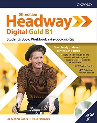 Headway digital gold B1. Student's book-Workbook. Without key. Per le Scuole superiori. Con espansione online [Lingua inglese]