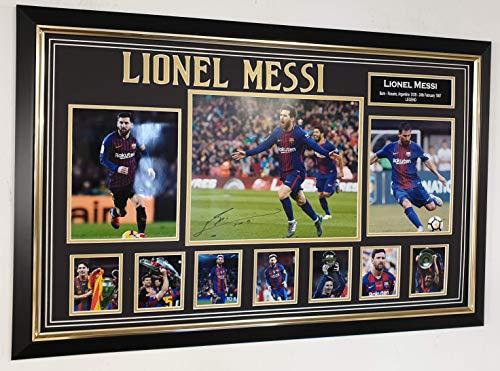 Fotografía firmada por www.signedmemorabiliashop.co.uk Lionel MESSI