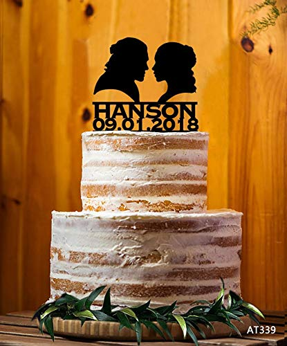 Daenerys Targayen y Jon Snow - Decoración para tarta de boda