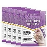 5 Pairs Foot Peeling Mask,Exfoliating Callus Peel Booties,Peeling Off Calluses & Dead Skin