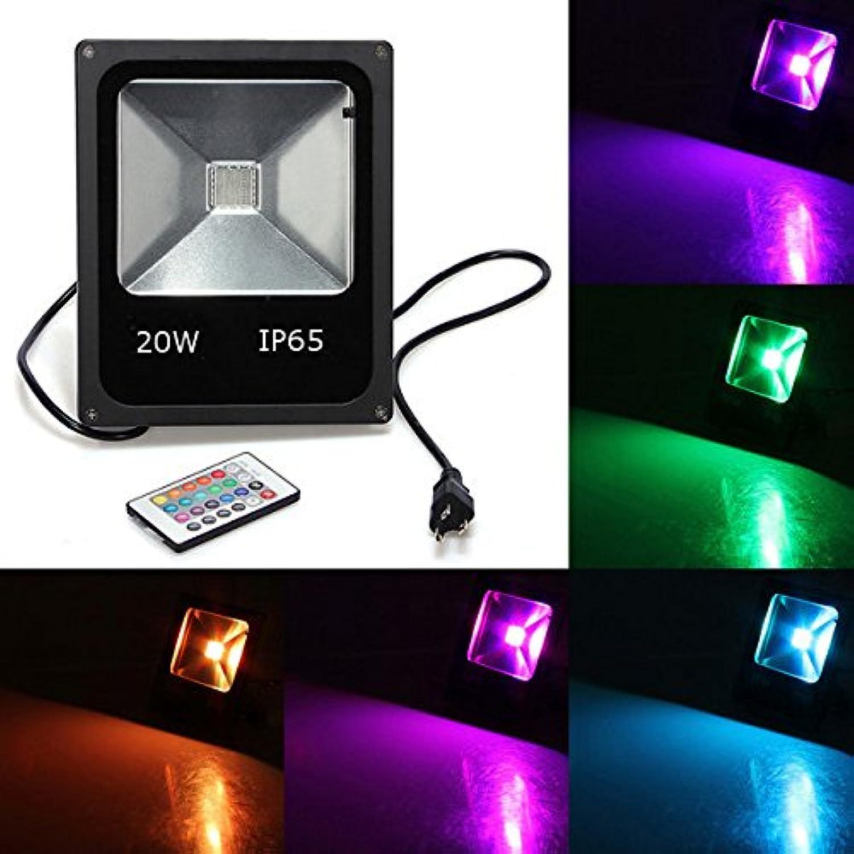 Bazaar 20W RGB IP65 LED Flut-Licht-Wash-Gartenleuchte Wechselstrom 85-265V