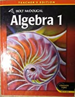 Algebra 1 0547647123 Book Cover