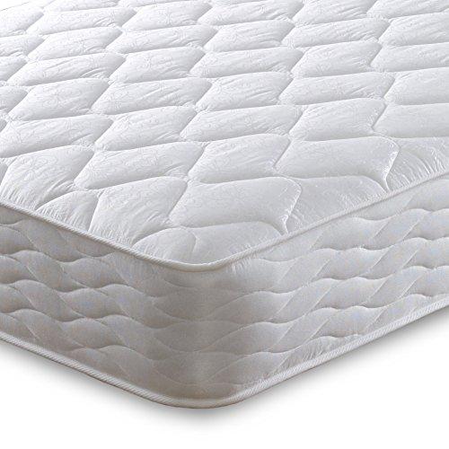Cheap Beds Direct Orion Colchón de Doble Cara con muelles Micro Acolchados,...