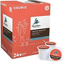 Keurig Coffee Pods K-Cups 16/18 / 22/24 Count Capsules ALL BRANDS/FLAVORS (24 Pods Caribou - Caramel Hideaway)