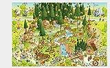 Waniyin Rompecabezas 1000 Piezas Puzzle Rompecabezas Puzzle Armar niños decoración del decoración Rompecabezas educativos