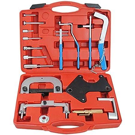 Cclife Motor Einstellwerkzeug Zahnriemen Wechsel Arretierung Steuerzeiten Werkzeug Arretierwerkzeug Kompatibel Mit Renault 1 2 1 4 1 6 16v Auto