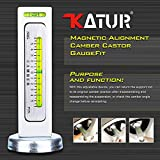 KATUR Universal Gauge Tool for Car/Truck Magnetic Camber Castor Strut Wheel Alignment Tool for Car(Pack of 1)