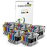 Colour Direct 20 LC223 Tinta Compatible Cartuchos por Brother DCP-J4120DW, DCP-J562DW, MFC-J4420DW, MFC-J480DW, MFC-J4620DW, MFC-J4625DW, MFC-J5320DW, MFC-J5620DW, MFC-J5625DW, MFC-J5720DW